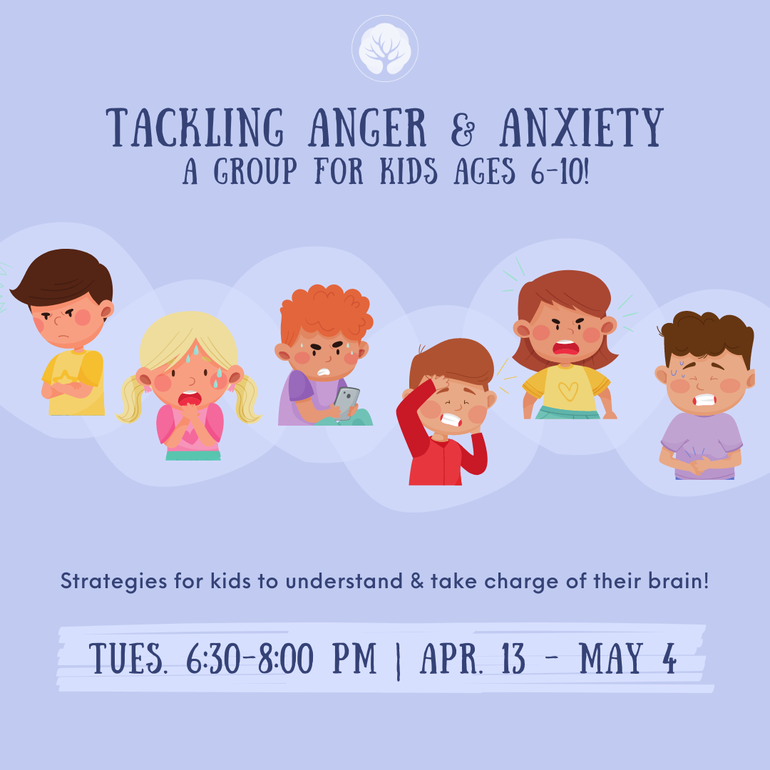 Tackling Anger & Anxiety: A Group for Kids